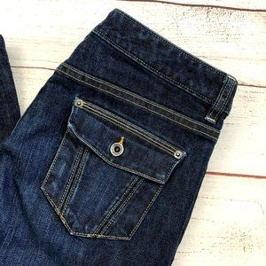 Banana Republic Stretch Blue Jeans